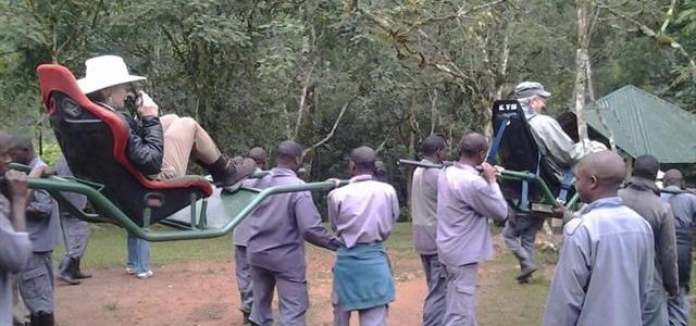 Did you know even the disabled do Uganda gorilla trekking safaris -Uganda Safari New